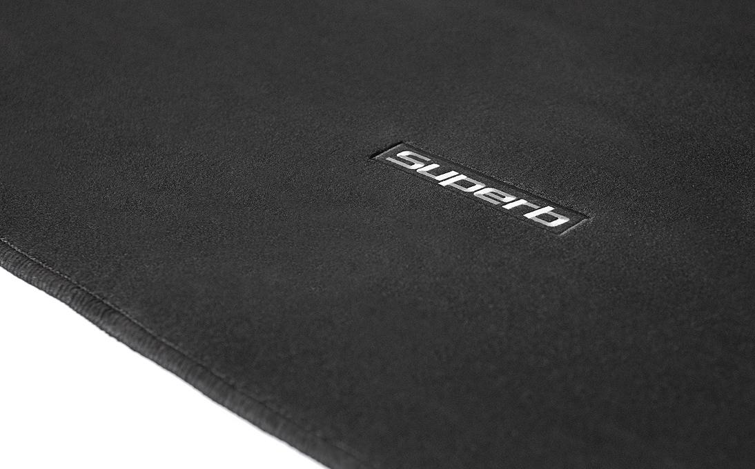 Textilní koberec zavazadlového prostoru - Superb II Combi bez mezipodlahy