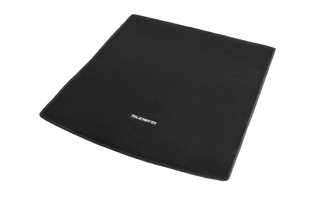 Textilní koberec zavazadlového prostoru - Superb II Combi s mezipodlahou