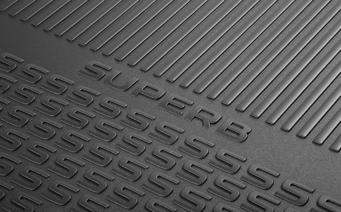 Oboustranný koberec do zavazadlového prostoru - Superb III Sedan