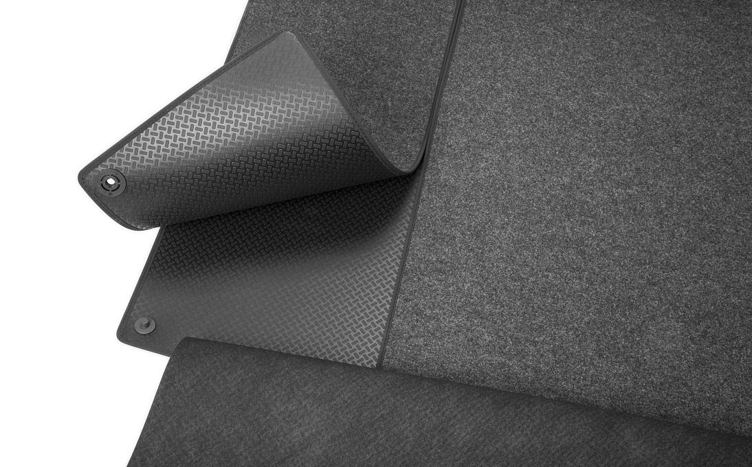 Rozkládací gumotextilní koberec zavazadlového prostoru - Superb III Combi s mezipodlahou