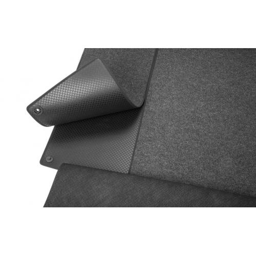 Náhled Rozkládací gumotextilní koberec zavazadlového prostoru - Superb III Combi s mezipodlahou