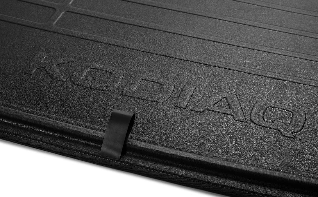 Oboustranný koberec do zavazadlového prostoru - Kodiaq bez rezervy