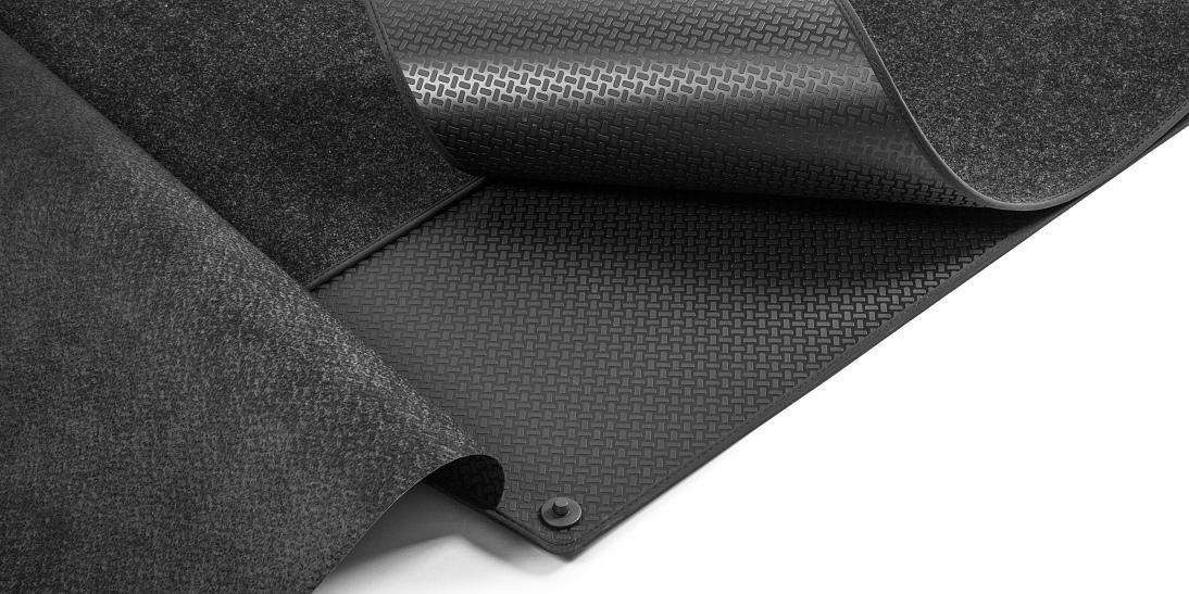 Rozkládací gumotextilní koberec zavazadlového prostoru - Škoda Kodiaq