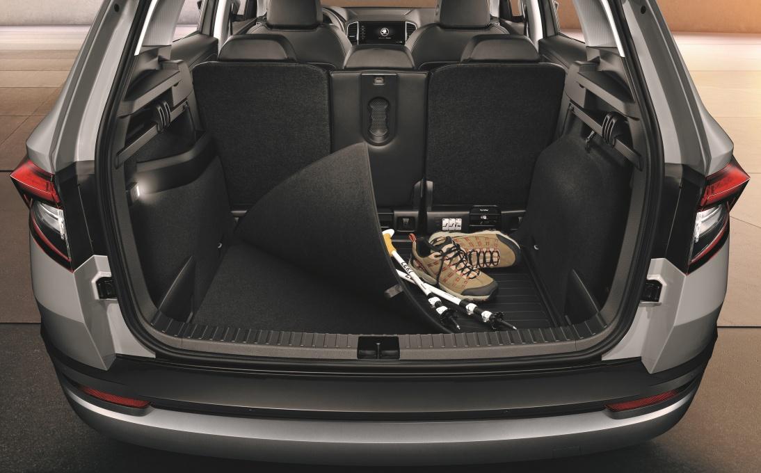 Oboustranný koberec do zavazadlového prostoru - Karoq