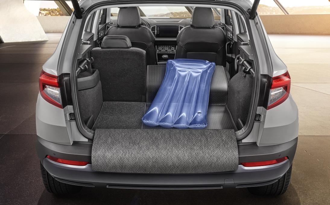 Rozkládací koberec zavazadlového prostoru