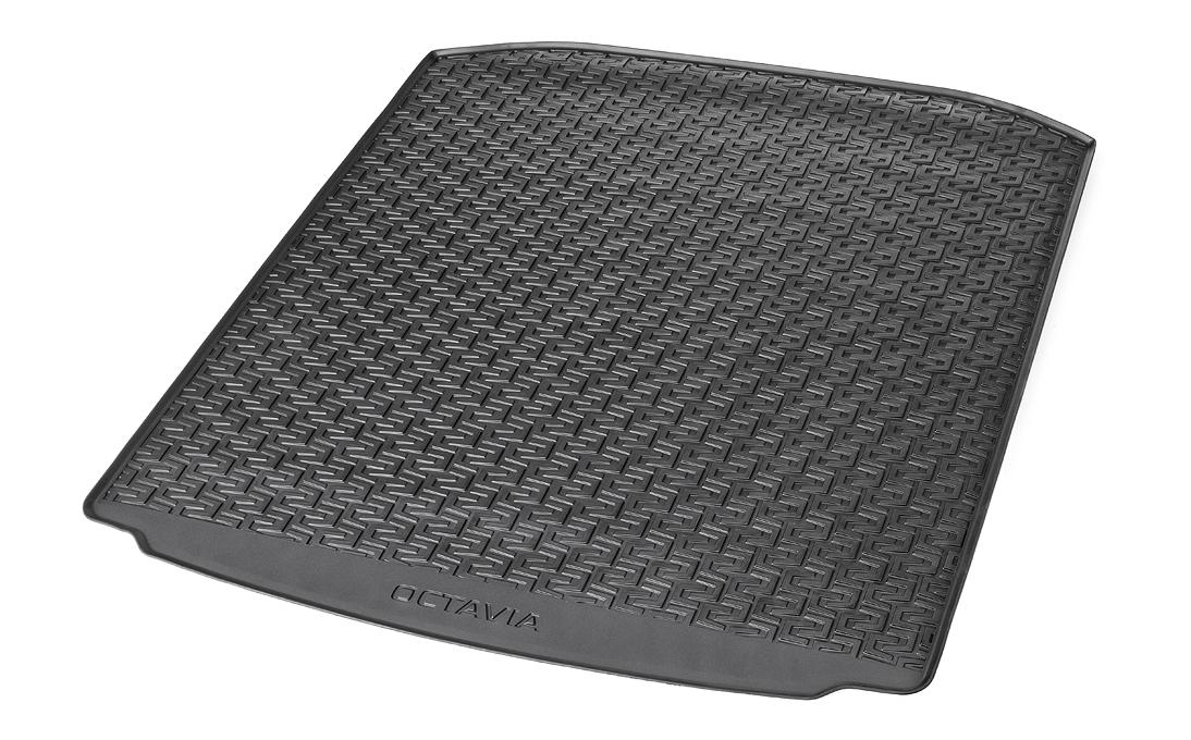 Gumový koberec zavazadlového prostoru - Octavia III Liftback