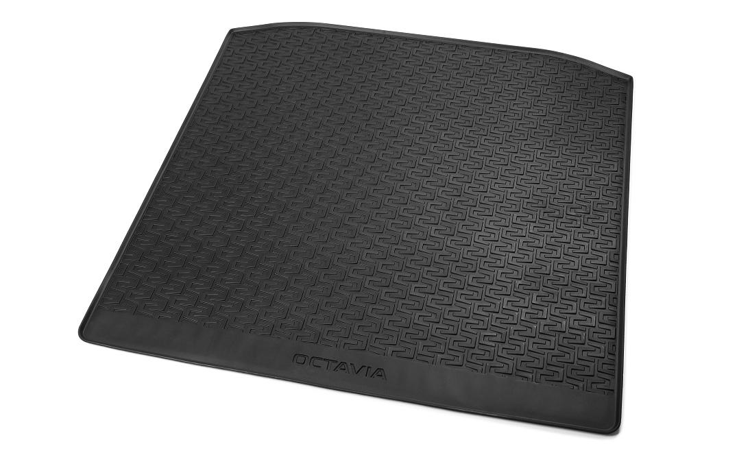 Gumový koberec zavazadlového prostoru - Octavia III Combi