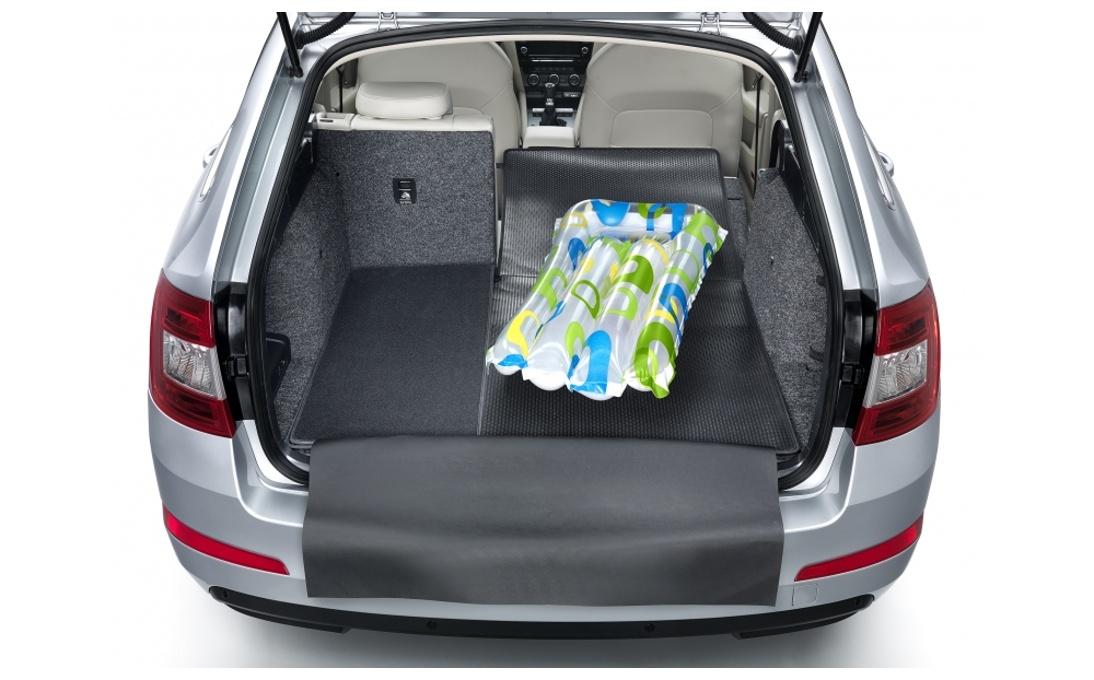 Rozkládací gumotextilní koberec zavazadlového prostoru - Octavia III Combi