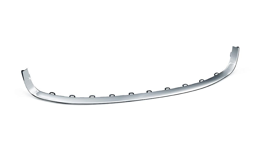 Chromovaná lišta mřížky nárazníku