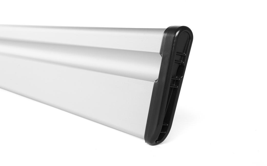Hliníková přepážka pro plastovou vanu