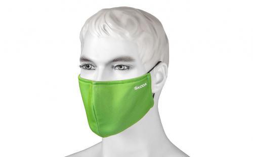 Náhled Antibakteriální rouška zelená