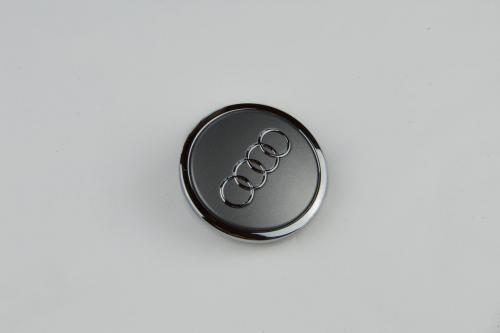 Náhled Ozdobný střed kola - šedý matný AUDI